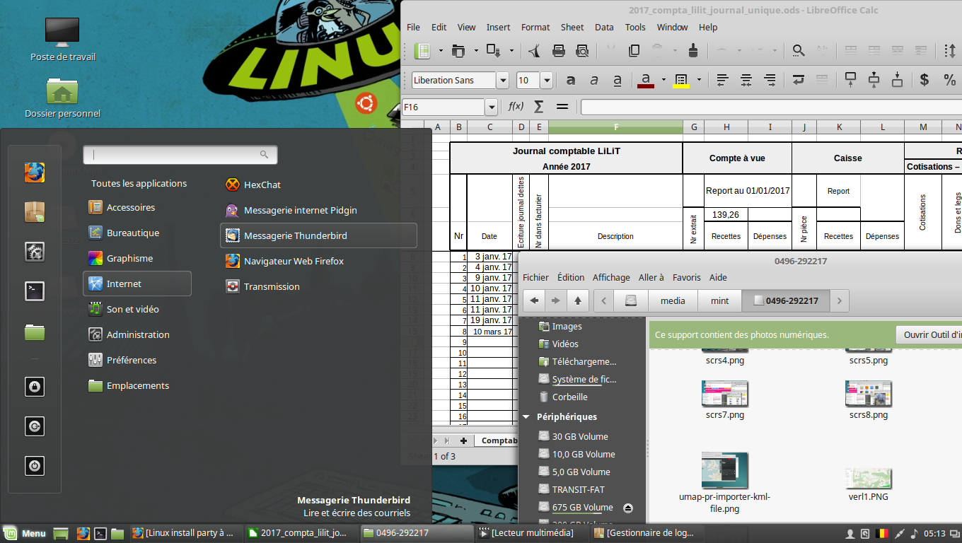 LinuxMint screenshot